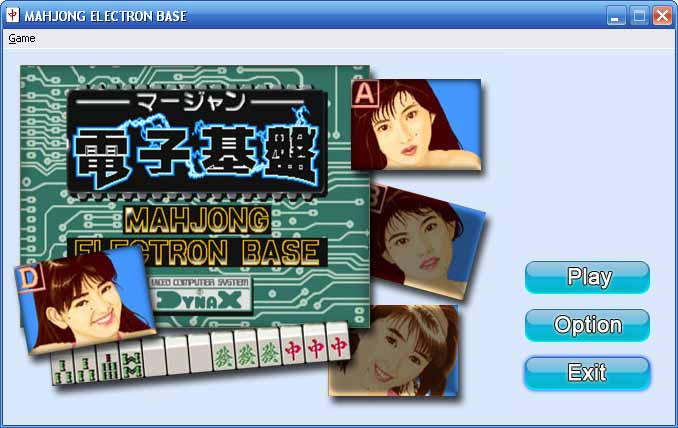 MAHJONG ELECTRON BASE screen shot